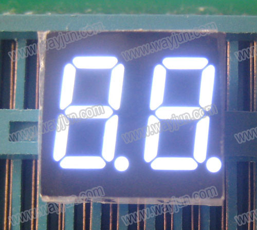 0.36 Inch 7 Segment Double Digit White LED Display