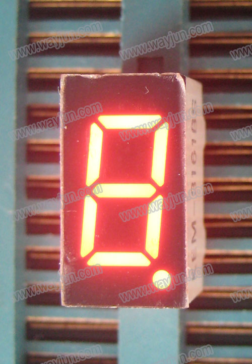 0.36 Inch 7 Segment Single Digit Red LED Display