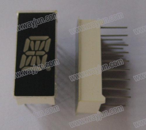 0.39 Inch Alpha Numeric Single Digit LED Display