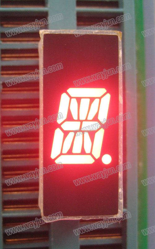 0.39 Inch Alpha Numeric Single Digit Red LED Display