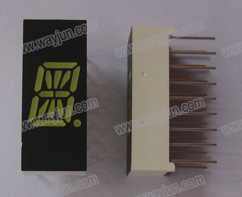 0.39 Inch Alpha Numeric Single Digit  White LED Display