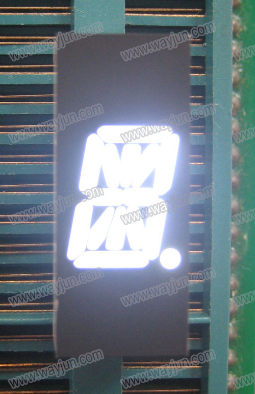 0.39 Inch Alpha Numeric Single Digit  White LED Display