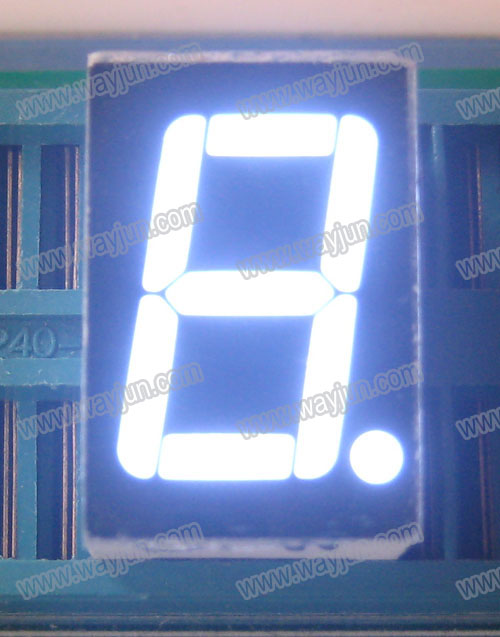 0.56 Inch 7 Segment Single Digit White LED Display