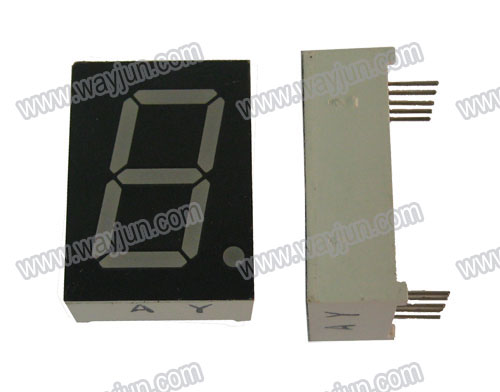 0.8 Inch 7 Segment Single Digit LED Display