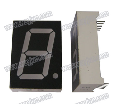 1.0 Inch 7 Segment Single Digit LED Display
