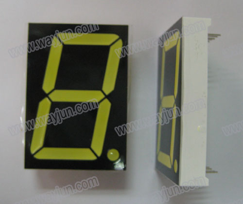 1.5 Inch 7 Segment Single Digit LED Display