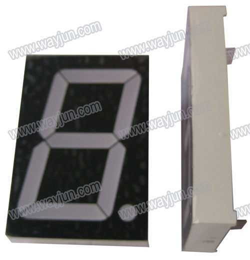 2.3 Inch 7 Segment Single Digit LED Display