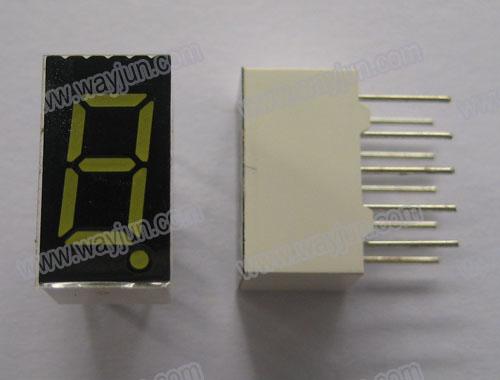 0.36 Inch 7 Segment Single Digit LED Display