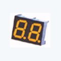 7 Segment Double Digit Yellow LED Display 0.36 Inch Anode