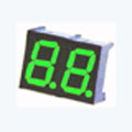 7 Segment Double Digit green LED Display 0.36 Inch Anode