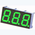 7 Segment Three Digit green LED Display 0.36 Inch Anode