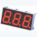7 Segment Three Digit red LED Display 0.36 Inch Cathode