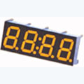 7 Segment Four Digit Yellow LED Display 0.36 Inch Anode