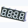 7 Segment Four Digit White LED Display 0.40 Inch Cathode