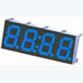 7 Segment Four Digit blue LED Display 0.36 Inch Anode