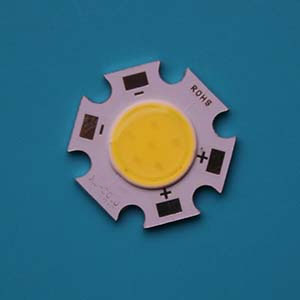 3W Star COB High power LED, 20mm