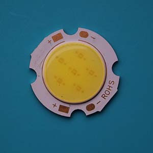 5W Round COB High power LED, 24mm