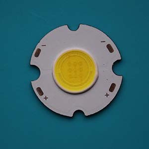 3W Round COB High power LED, 26mm