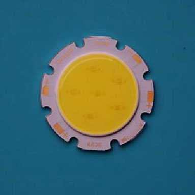 9W Round COB High power LED, 28mm