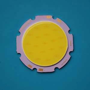 7W Round COB High power LED, 40mm