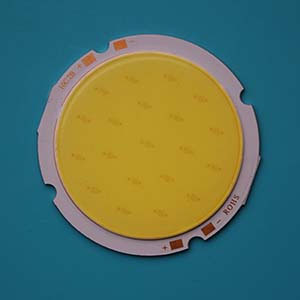 10W Round COB High power LED, 54mm