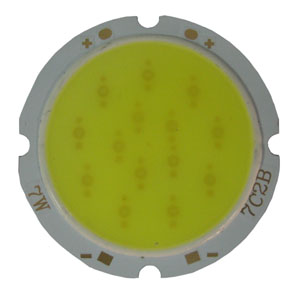 7W Round COB High power LED