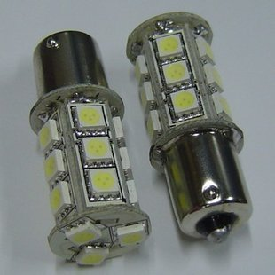 1156 Car Turn Tail Light Bulbs 18 SMD 5050 LED