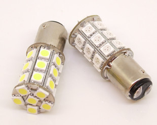 1157 Car Brake Light Bulbs 27 SMD 5050 LED