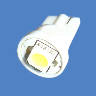 T10 W5W 194 White Car Side Light Bulb Lamp 1 SMD 5050 LED