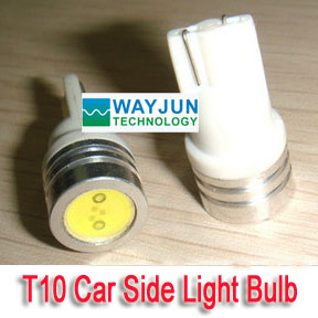 T10 W5W 194 Car Side LED Light Bulb Lamp 1W White