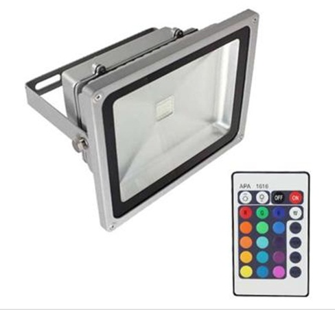 20W RGB Color Changing Outdoor LED Flood Wash Light 85~265V
