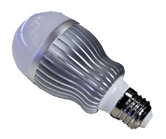 E27 5 High Power LED Bulb Light Lamp 5W(AC85-265V) - Click Image to Close