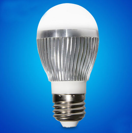 3W LED Light Lamp, E27, 3 High Power LED(AC100-240V)