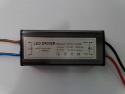 4-7*3W LED External power supply (AC85-265V)