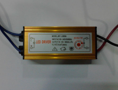 6-9*1W LED External power supply(AC100-240V)