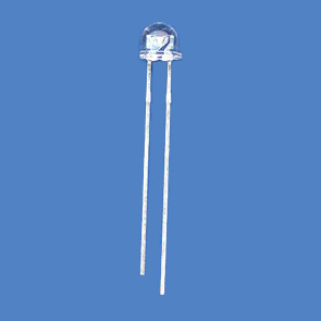 5mm Straw Hat Wide Angel Through-Hole LED