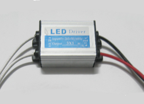 3*1W LED External constant current driver(AC85-265V)