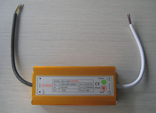 100W High power LED External power supply (AC85-250V)
