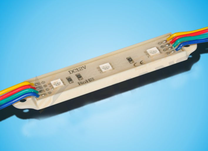 5050 RGB SMD LED Modules warterproof, 12V
