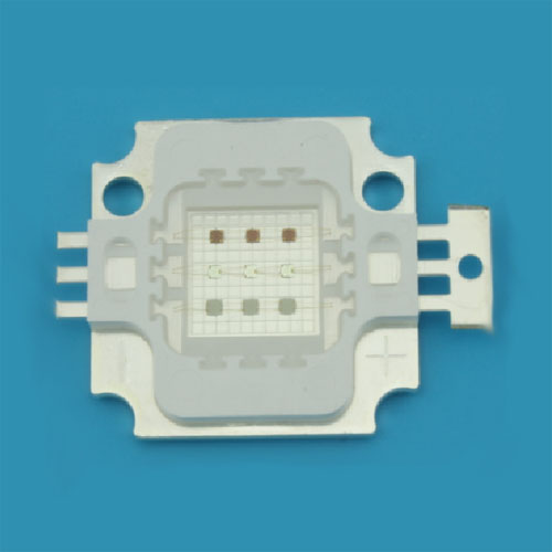 10W Full Color RGB High Power LED, Square