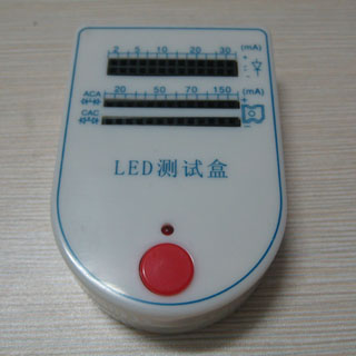 Mini Portable LED Light Lamp Tester Box Tool
