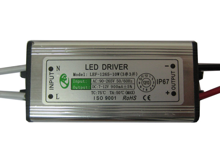 10W High power LED External power supply (AC90-265V)