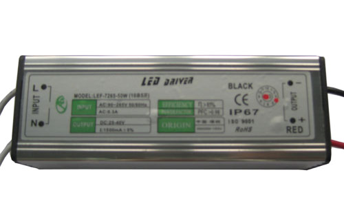 50W High power LED External power supply (AC90-265V)