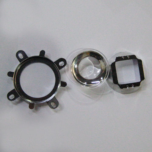 44mm Glass Lens and Reflector and Mounting Ring