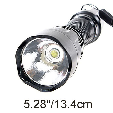Romisen RC-G4 P4 CREE LED Aluminium Flashlights