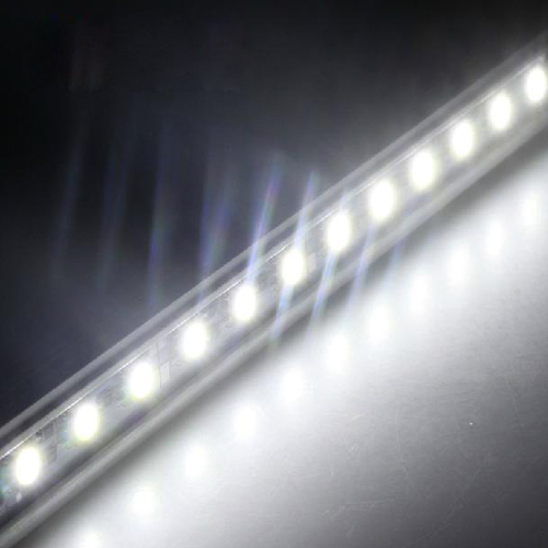 5050 SMD led Rigid Strip Light,1m,72 leds, With Fixed Slot