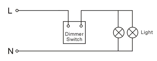 wiring a dimmer switch uk diagram