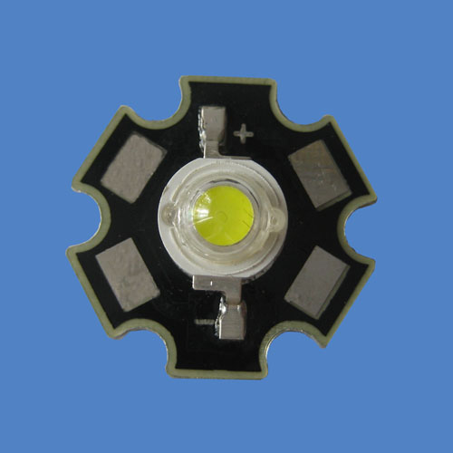 High Brightness 3W High Power White LED