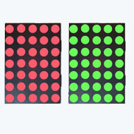 17.78mm (0.7 Inch) Bicolor Red & Green 5x7 Dot Matrix LED