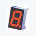 7 Segment Single Digit Red LED Display 2.3 Inch Anode